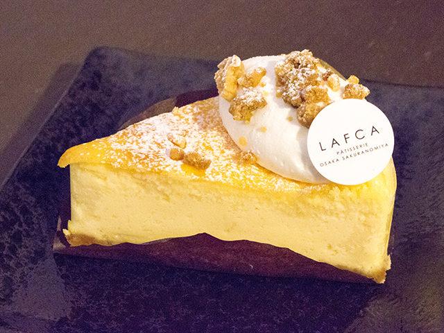 大阪、桜ノ宮の極上スイーツ「LAFCA(ラフカ)」のケーキをレポート