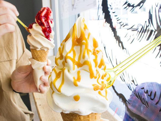 堀江でスイーツをお探しなら、グーフォのアイスクリームはいかが?