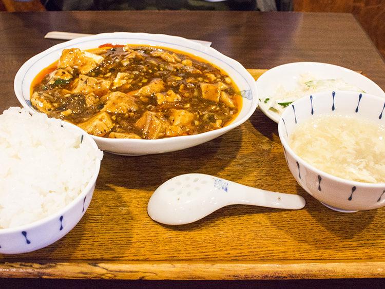 麻婆豆腐の最高峰!大阪福島「中国菜 オイル」で激辛マーボーランチ