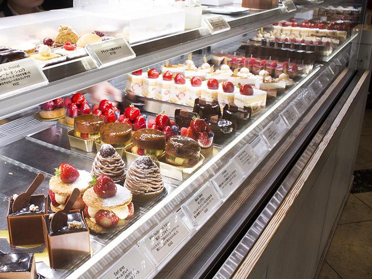チョコレートのケーキがすぐ売り切れる!なかたに亭(大阪上本町)
