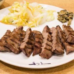 梅田やハルカスで牛たん定食を食べるなら専門店の「利休」で決まり!