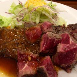 お昼はステーキランチのみ‼︎‼︎200g800円の格安♡コスパ抜群の『キャトルラパン 北梅田』