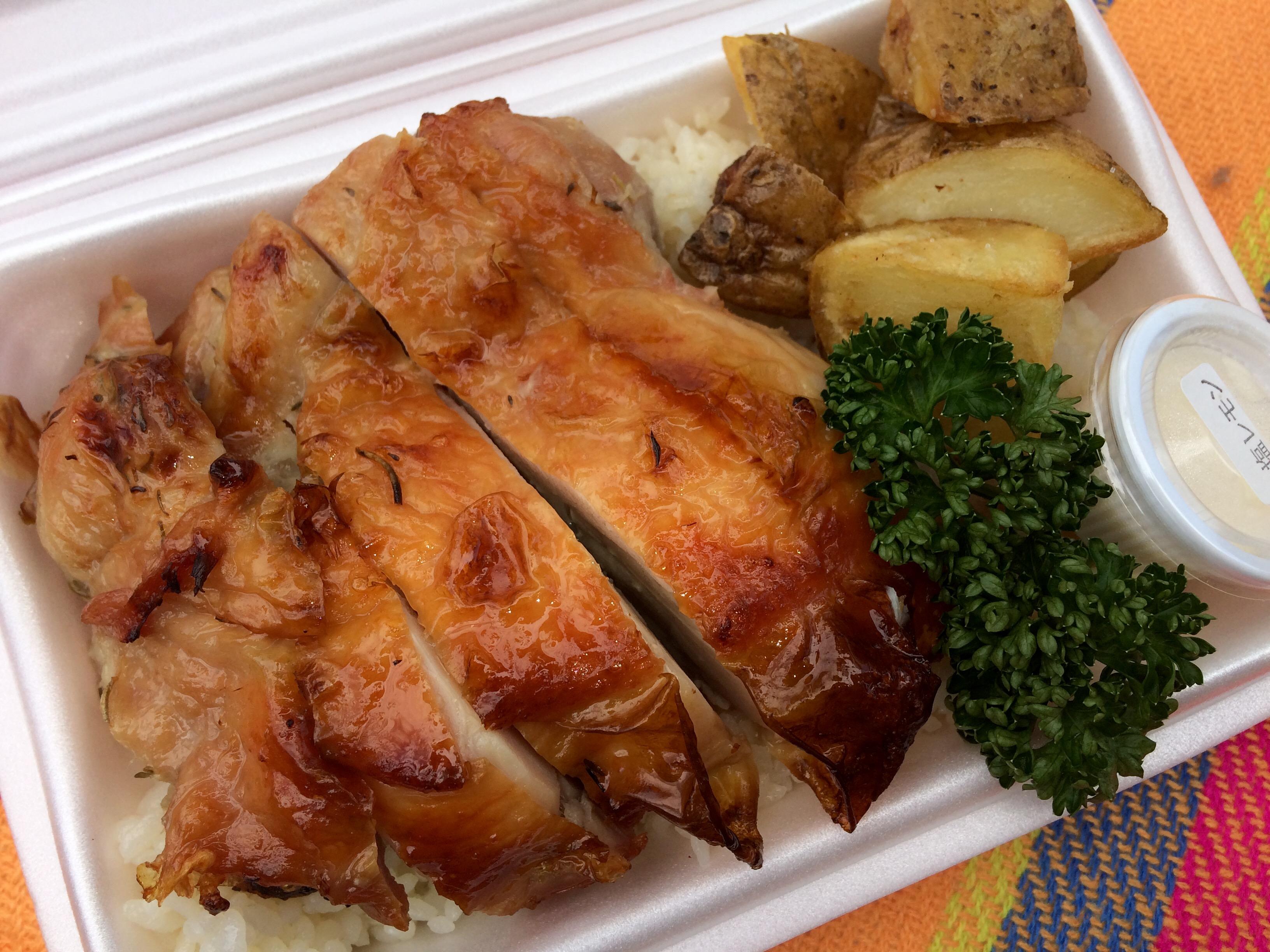 天満橋にある関西初‼︎安くて美味しいチキンオーバーライス店『ニューヨークチキングリル』♡
