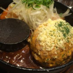 天神橋筋商店街で美味しい神戸牛ハンバーグランチが頂ける『神戸牛ハンバーグとステーキの店 いち』