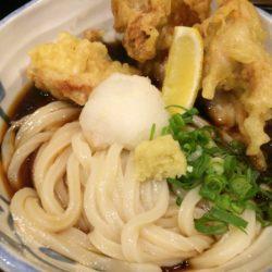 中津にあるボリューム満点のとり天ぶっかけを食す‼︎『たけうちうどん店』で絶品ランチ
